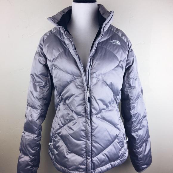 e95a4b6228 The North Face 550 aconcagua silver gray jacket. M 5a595c9da4c48509a7d4654e